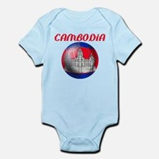 Cambodia Soccer Infant Bodysuit