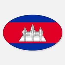 Flag of Cambodia Decal
