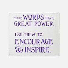 INSPIRE Throw Blanket