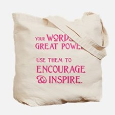 INSPIRE (both sides) Tote Bag