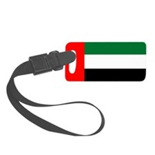 United Arab Emirates Flag Luggage Tag