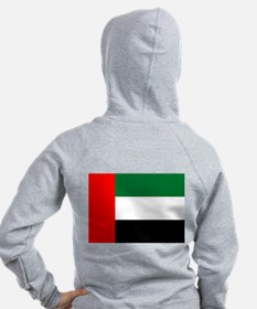 United Arab Emirates Flag Zip Hoody
