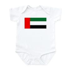 United Arab Emirates Flag Infant Bodysuit