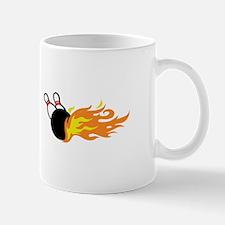 FLAMING BOWLING Mugs