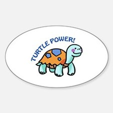 Turtle Power! Decal