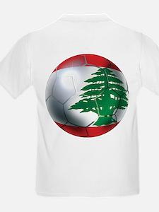 Lebanese Soccer T-Shirt