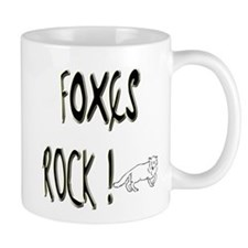 Foxes Rock ! Mug