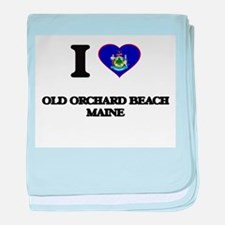 I love Old Orchard Beach Maine baby blanket