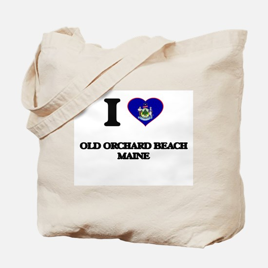 I love Old Orchard Beach Maine Tote Bag