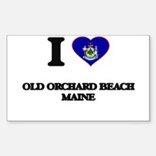 I love Old Orchard Beach Maine Decal