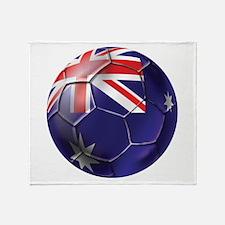 Australia Football Throw Blanket