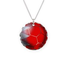 Bahrain Football Necklace