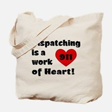 Dispatching Heart Tote Bag