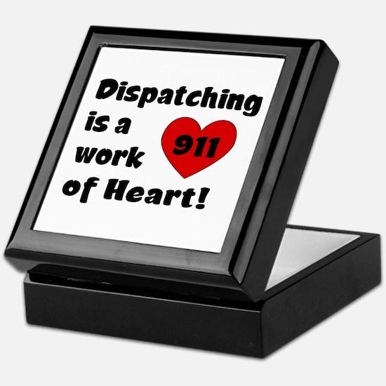 Dispatching Heart Keepsake Box