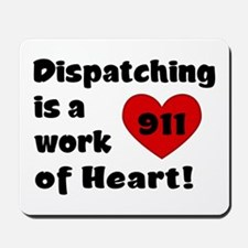 Dispatching Heart Mousepad