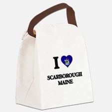 I love Scarborough Maine Canvas Lunch Bag