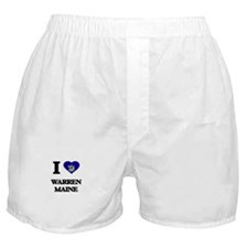 I love Warren Maine Boxer Shorts
