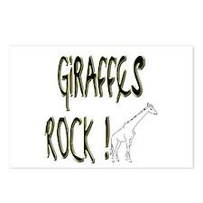 Giraffes Rock ! Postcards (Package of 8)