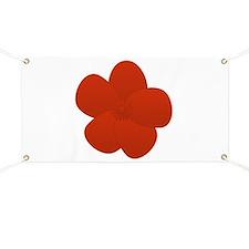 Anemone Red Lover Flower Banner