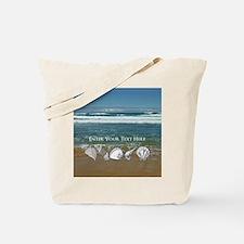 Customized Original Seashell Beach Art Tote Bag