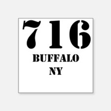 716 Buffalo NY Sticker