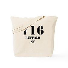 716 Buffalo NY Tote Bag