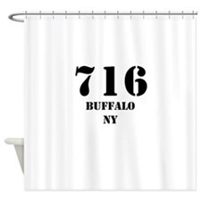 716 Buffalo NY Shower Curtain