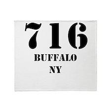 716 Buffalo NY Throw Blanket