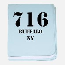 716 Buffalo NY baby blanket