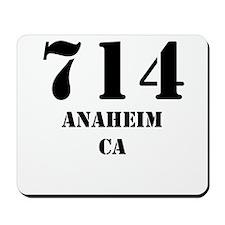 714 Anaheim CA Mousepad