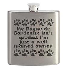 My Dogue de Bordeaux Isnt Spoiled Flask