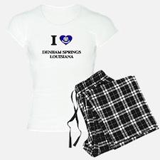 I love Denham Springs Louis Pajamas