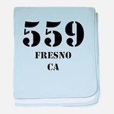 559 Fresno CA baby blanket