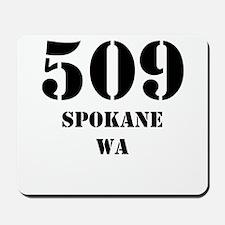509 Spokane WA Mousepad
