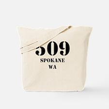 509 Spokane WA Tote Bag