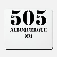 505 Albuquerque NM Mousepad