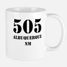 505 Albuquerque NM Mugs