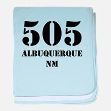 505 Albuquerque NM baby blanket