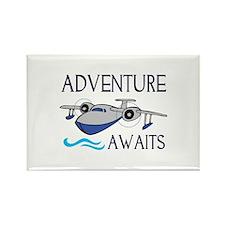 ADVENTURE AWAITS Magnets