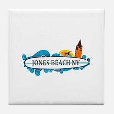 Amelia Island - Beach Design. Tile Coaster