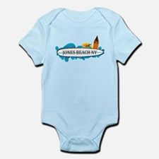 Amelia Island - Beach Design. Infant Bodysuit
