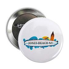 "Amelia Island - Beach Design. 2.25"" Button"