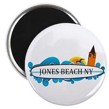 Amelia Island - Beach Design. Magnet Magnets