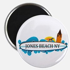 Amelia Island - Beach Design. Magnet Magnets
