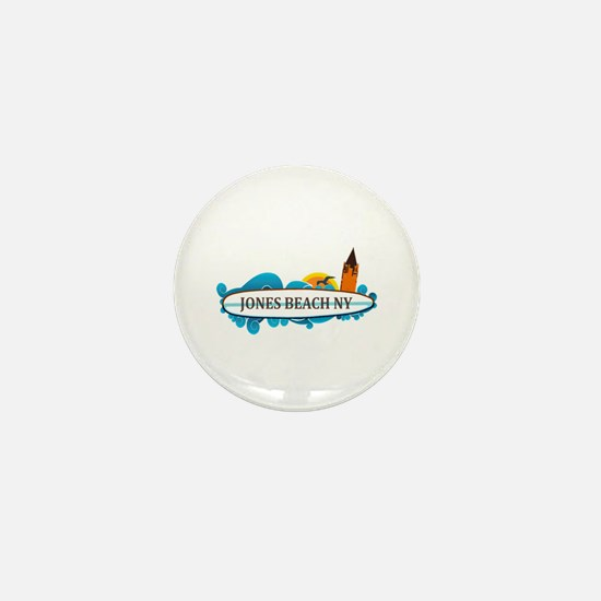 Amelia Island - Beach Design. Mini Button