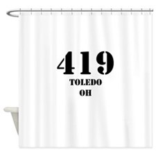 419 Toledo OH Shower Curtain