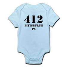 412 Pittsburgh PA Body Suit