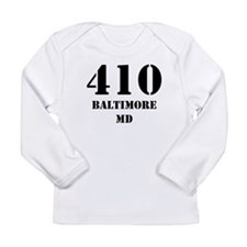 410 Baltimore MD Long Sleeve T-Shirt