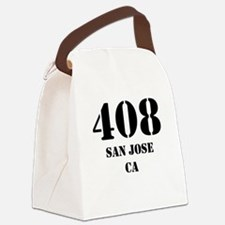 408 San Jose CA Canvas Lunch Bag