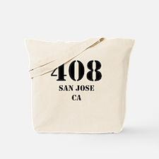 408 San Jose CA Tote Bag